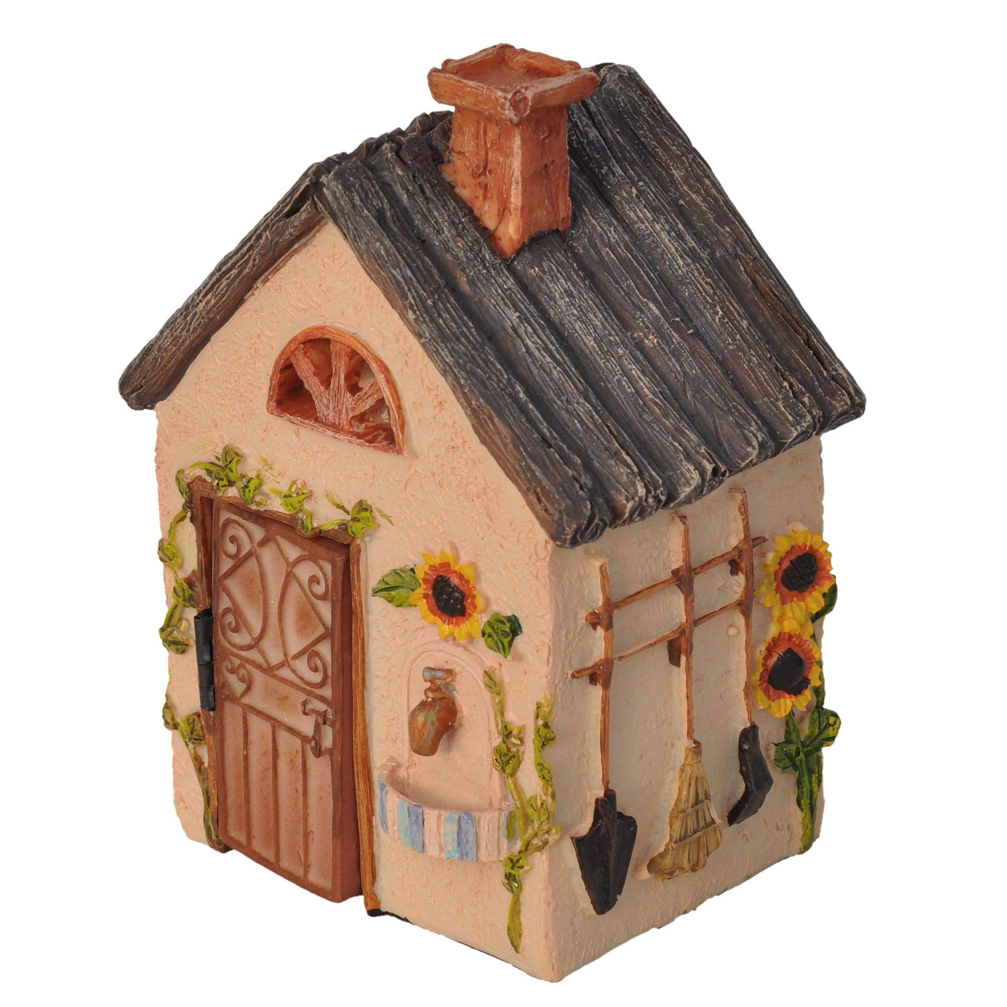 Fairy Workshop Cottage for Miniature Garden, Fairy Garden