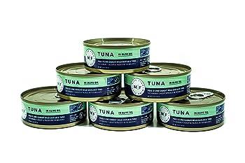 Pole & Line Caught Wild Skipjack Tuna in Olive Oil 6 –Pack