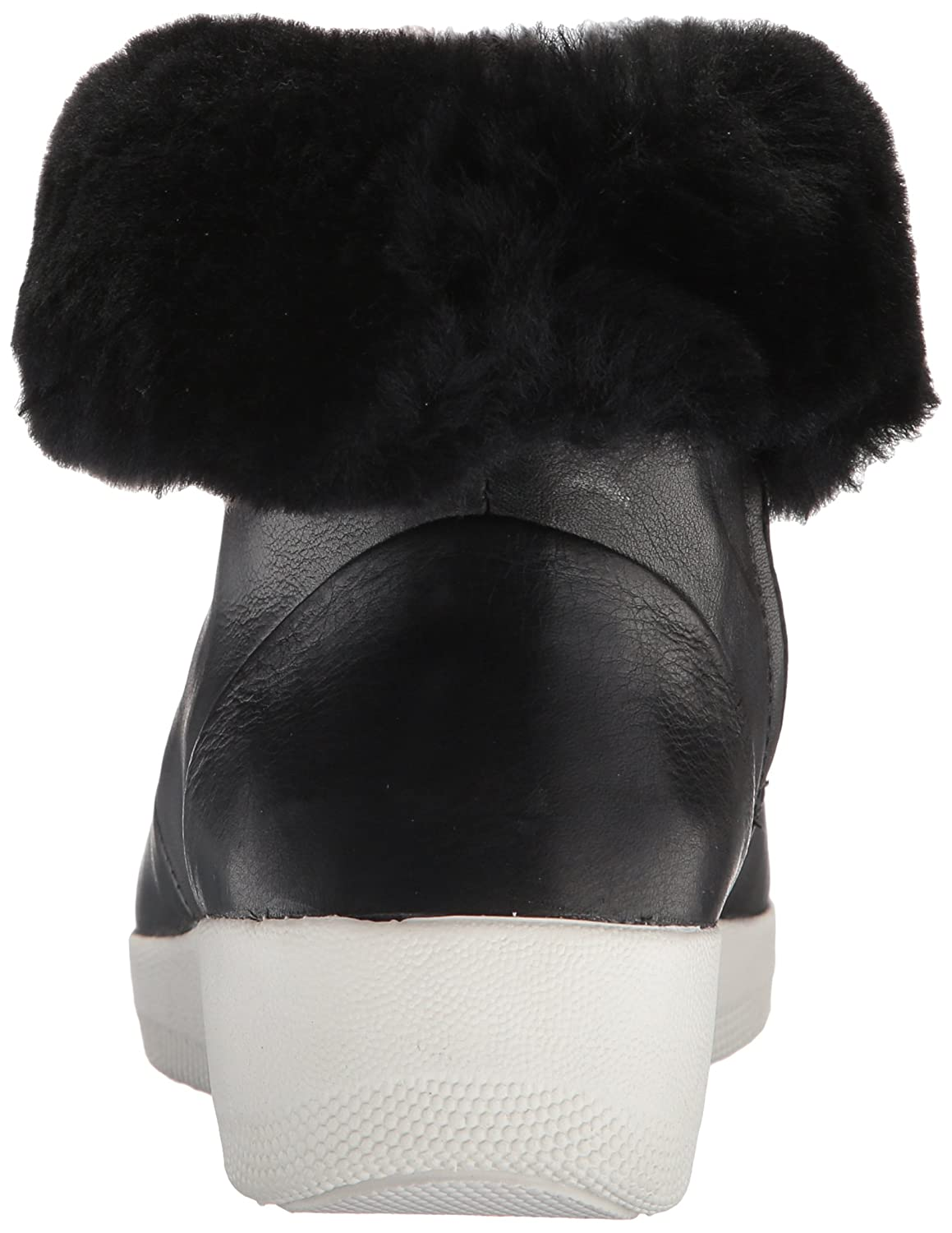 4a3f22e1ea648 Fitflop Womens Black Skatebootie Shearling Boots  Amazon.co.uk  Shoes   Bags