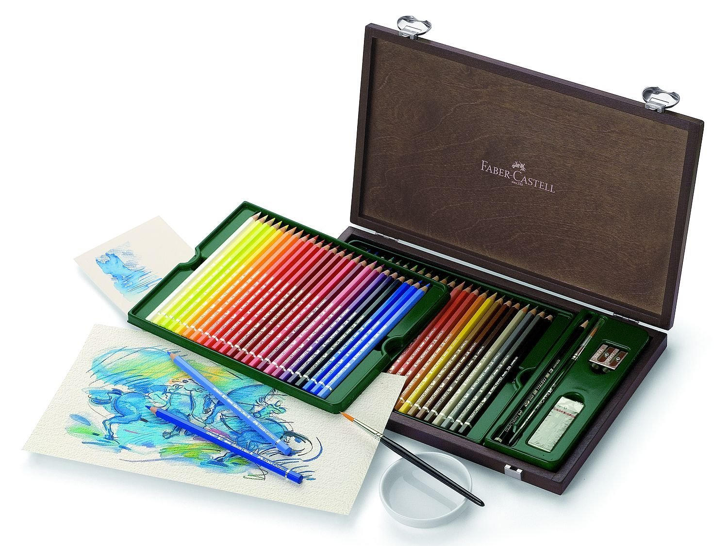 Albrecht Durer 48 Watercolor Pencil Set Box