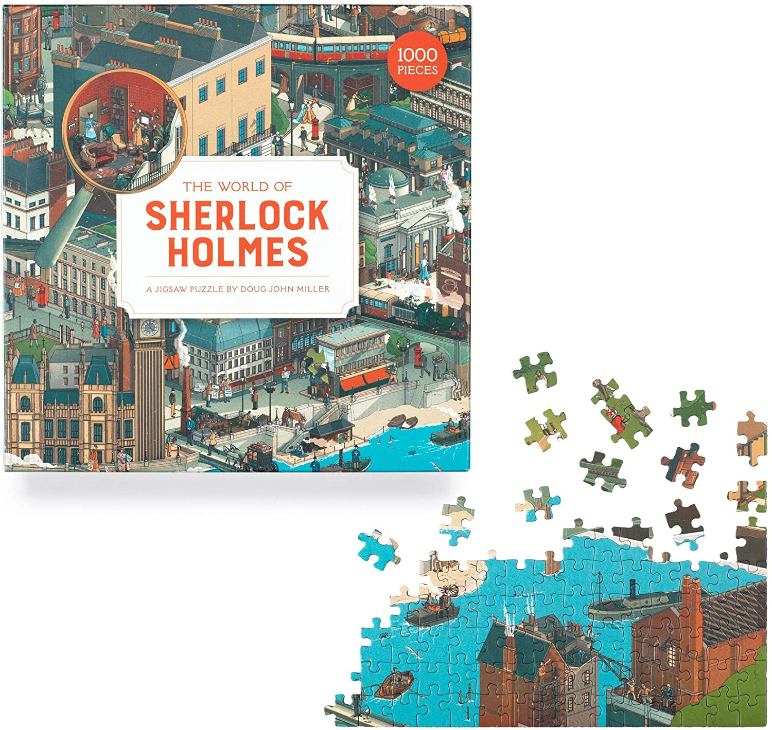 Laurence King Publishing The World of Sherlock Holmes A 1000 Piece Jigsaw Puzzle