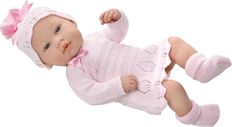 Amazon Es Elegance Muñeco Real Baby 42 Cm Color Rosa Muñecas Arias 65070 Juguetes Y Juegos