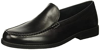Rockport Style Purpose Moc Slip On Black Men's Loafers AAEWTIF Fashion Brands