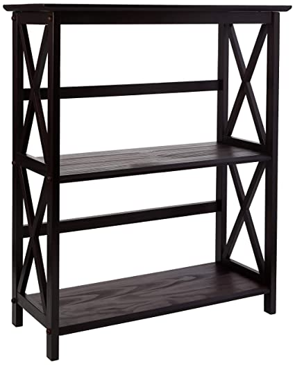 Casual Home Montego 3 Shelf Bookcase Espresso