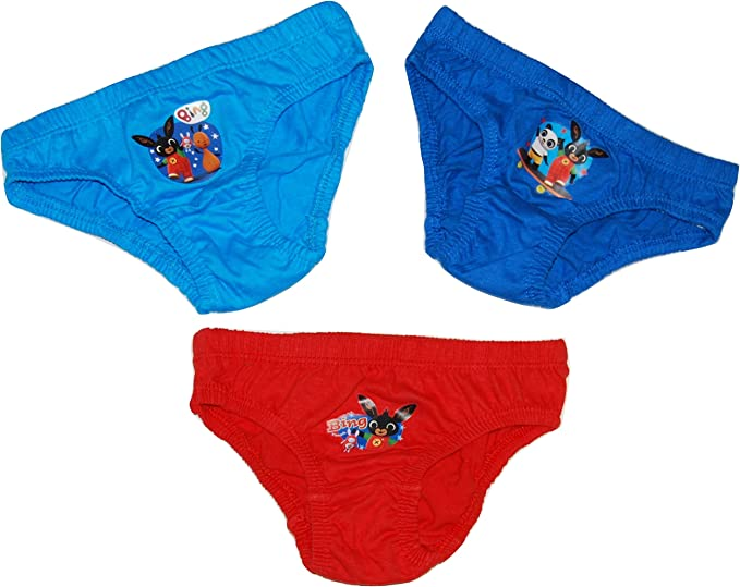 Boys In The Night Garden Igglepiggle Briefs Pants 3 Pack Toddler NEW FREE P/&P