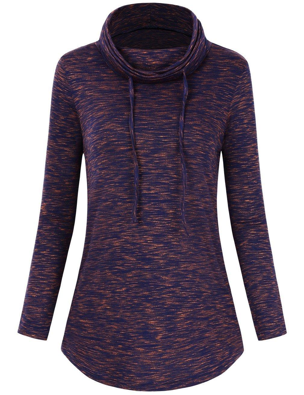 FANVOOK Long Sleeve Tops for Women, Casual Sweatshirts 2018 Tunic Tops for Leggings Slim Fit BO L