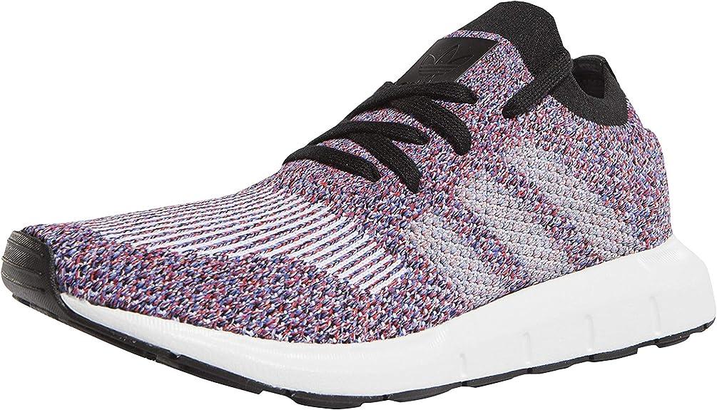 adidas Swift Run Primeknit, Baskets Homme, Violet Chiné, 40