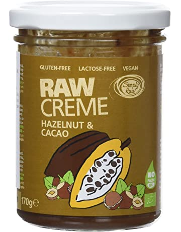 Simply Raw Crema Crudivegana de Cacao y Avellanas - 170 gr