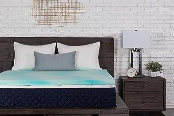amazon memory foam topper Amazon.com: DreamFoam Bedding 2