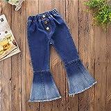 MODNTOGA Little Girl's Vintage Jeans Bell-Bottoms