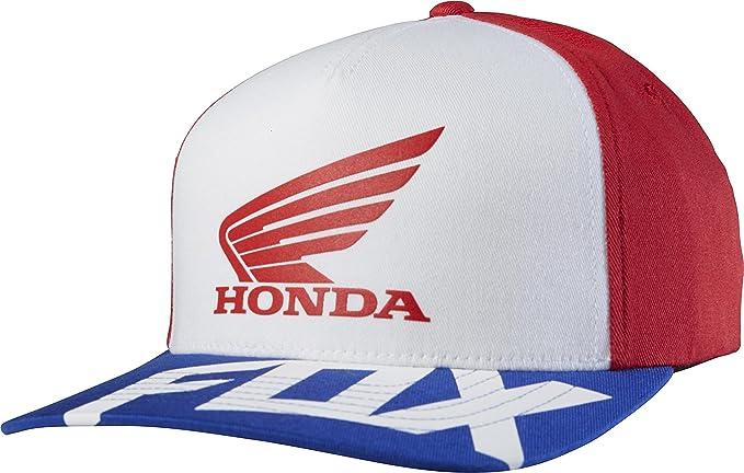 Fox Honda Basic Flexfit Hat Red/White: Amazon.es: Coche y moto