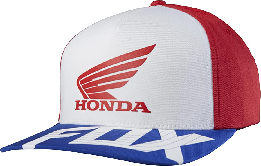 cheap for discount 0dc59 864ce ... norway fox racing mens honda basic flexfit hat large x large red white  021b8 0092f