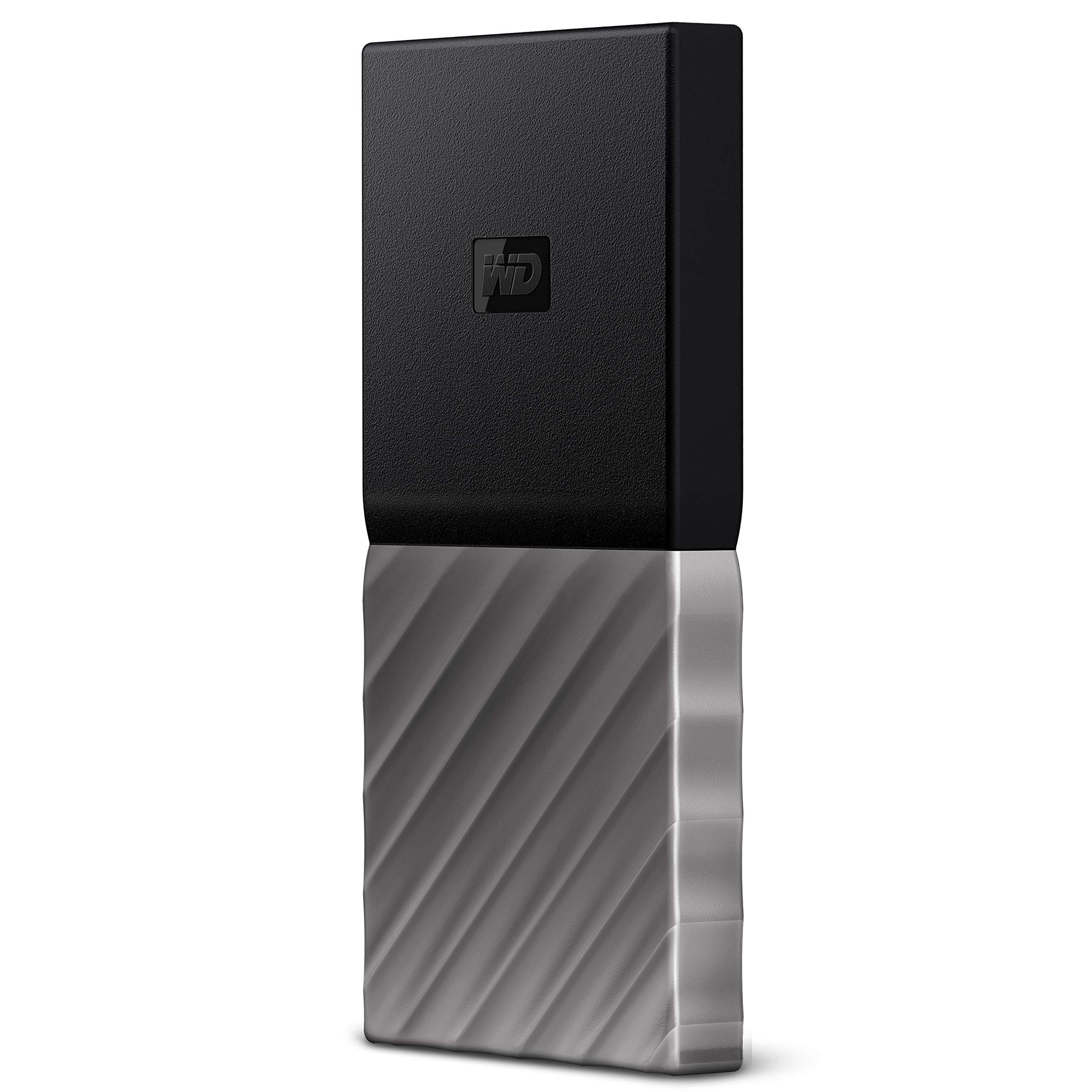 WD 2TB My Passport SSD Portable Storage - USB 3.1 - Black-Gray - WDBKVX0020PSL-WESN by Western Digital (Image #2)