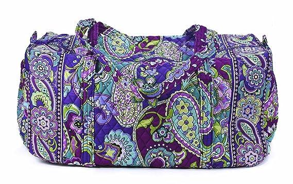750640119f6f Vera Bradley Luggage Women s Large Duffel Heather Duffel Bag  Accessory   Vera.