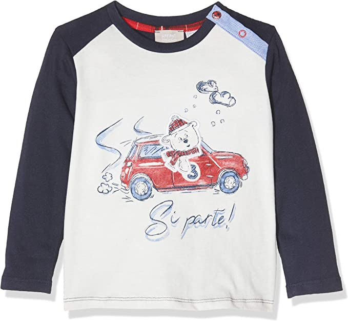 Chicco Baby-Jungen T-Shirt Maniche Lunghe Pullunder