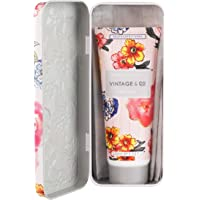 Vintage Patterns and Petals 100ml Hand Cream in Tin, 230 g