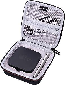 LTGEM EVA Hard Travel Carrying Case for Apple TV 4K (32GB / 64GB, Latest Model)