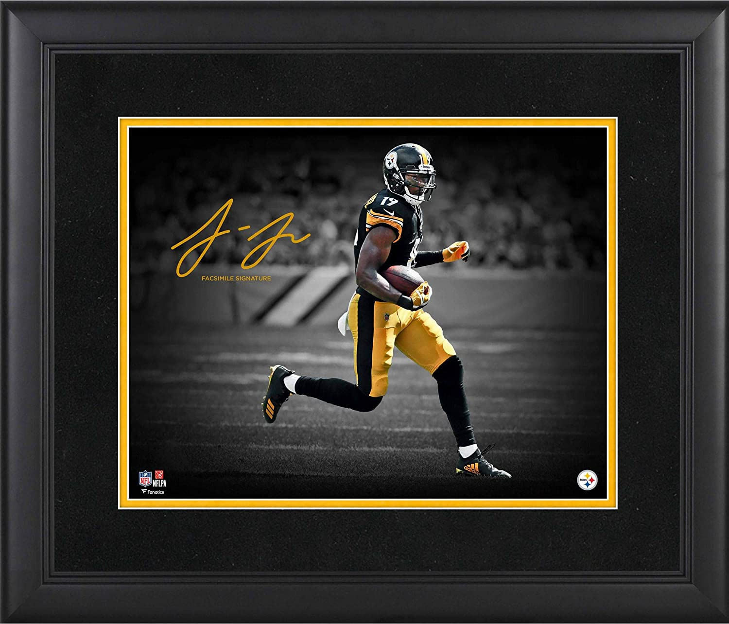 Juju Smith-Schuster Pittsburgh Max 85% OFF Steelers Framed 11