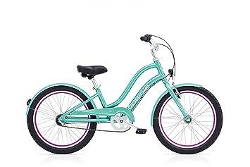 Electra Townie – 3i EQ 20 pulgadas bicicleta infantil 3 marchas niña Beach Cruiser Kids Cilindro