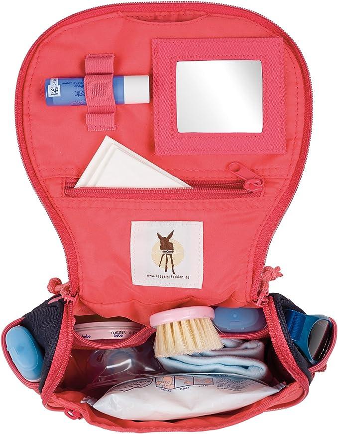 L/ÄSSIG Kulturtasche zum H/ängen mit Namensschild Kulturbeutel Waschbeutel Waschtasche Kinder ab 3 Jahre//Mini Washbag Adventure Tipi 1,6 L 20 x 15 cm