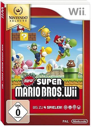 Nintendo New Super Mario Bros. Wii - Juego (Nintendo Wii ...