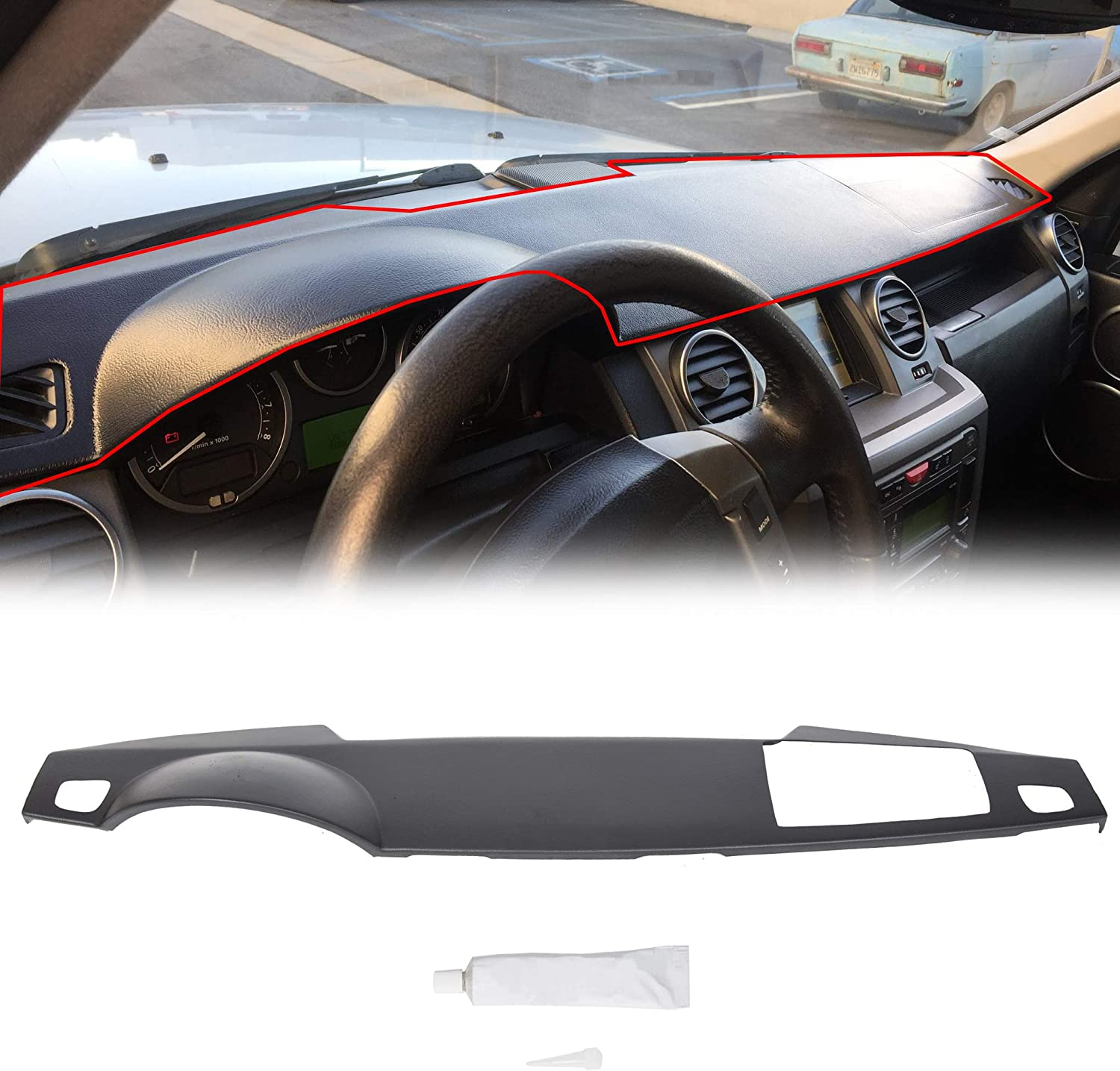ECOTRIC Dashboard Cover for 2005-2009 Land Rover LR3 Range Rover Sport