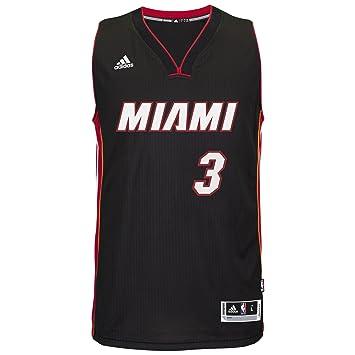 Dwyane Wade Miami Heat Adidas Swingman Jersey Black (medium)
