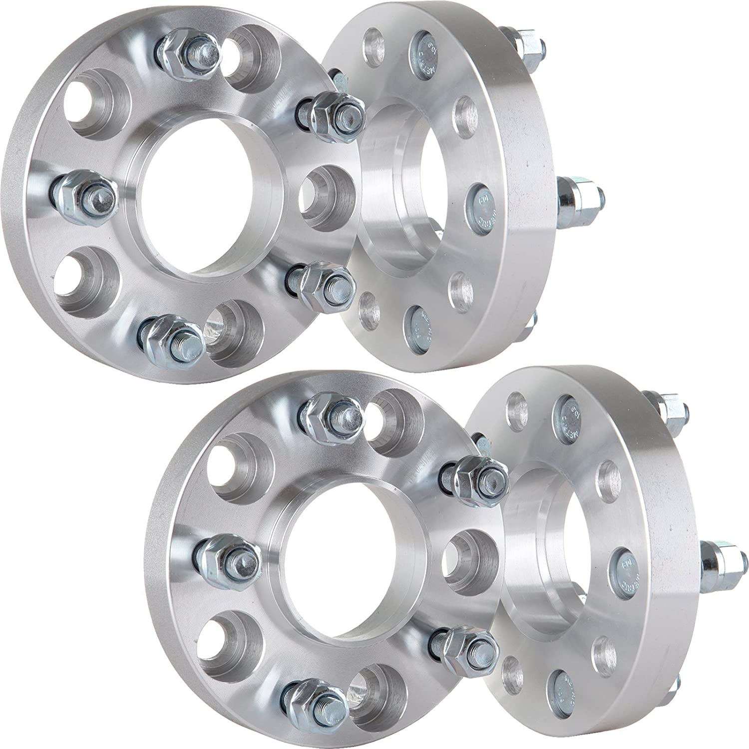 OCPTY 4x 1 HUBCENTRIC Wheel Spacers 5x4.75 5x120.65mm 7//16 Studs fit for 1968-1969 Buick GS 350 GS 400 LeSabre Chevrolet Impala Oldsmobile 442