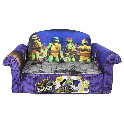 Amazon.com: Marshmallow Childrenu0027s Furniture   2 In 1 Flip Open Sofa    Teenage Mutant Ninja Turtles: Toys U0026 Games