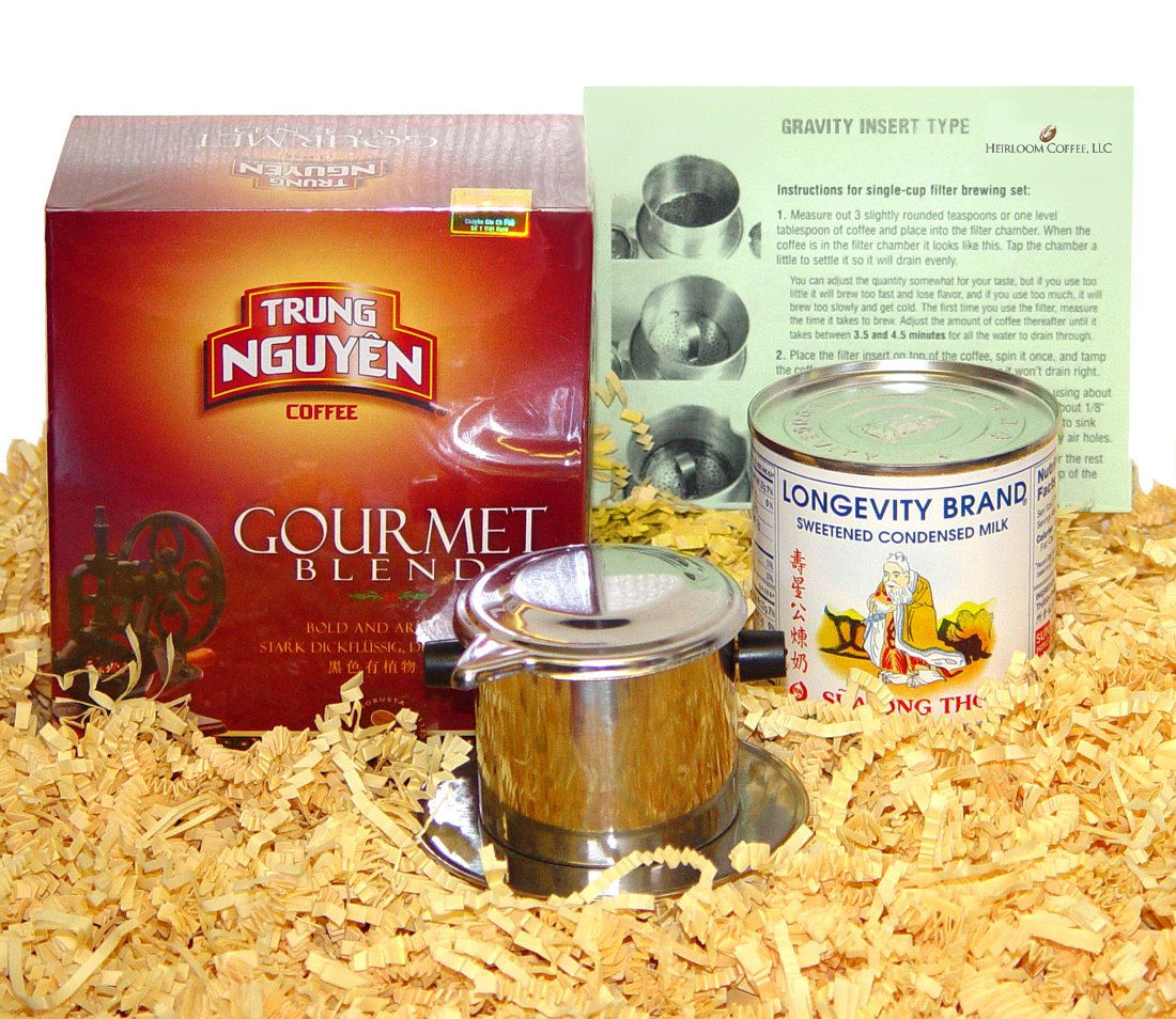 Len's Coffee Vietnamese Coffee Kit