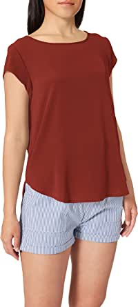 Only Onlvic S/S Solid Top Noos Wvn Camiseta para Mujer