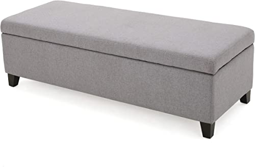 Christopher Knight Home Gable Fabric Storage Ottoman