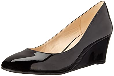 Nine West Damens's Synthetic Ispy Synthetic Damens's Wedge Pump, schwarz, 6 M 0ff6ac