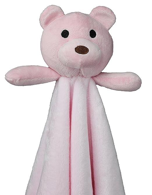 Amazon.com: Manta de peluche para bebé con diseño de oso de ...