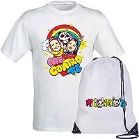Giano Srl T-Shirt Maglietta + Sacca Logo -Slime- Kira E Ray- Replica (disp. 3 Varianti) novità 2019 !