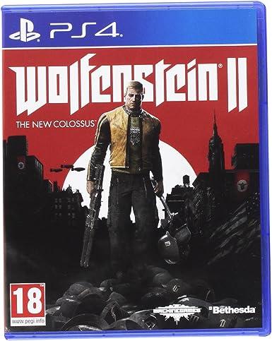 Wolfenstein II : The New Colossus - PlayStation 4 [Importación ...