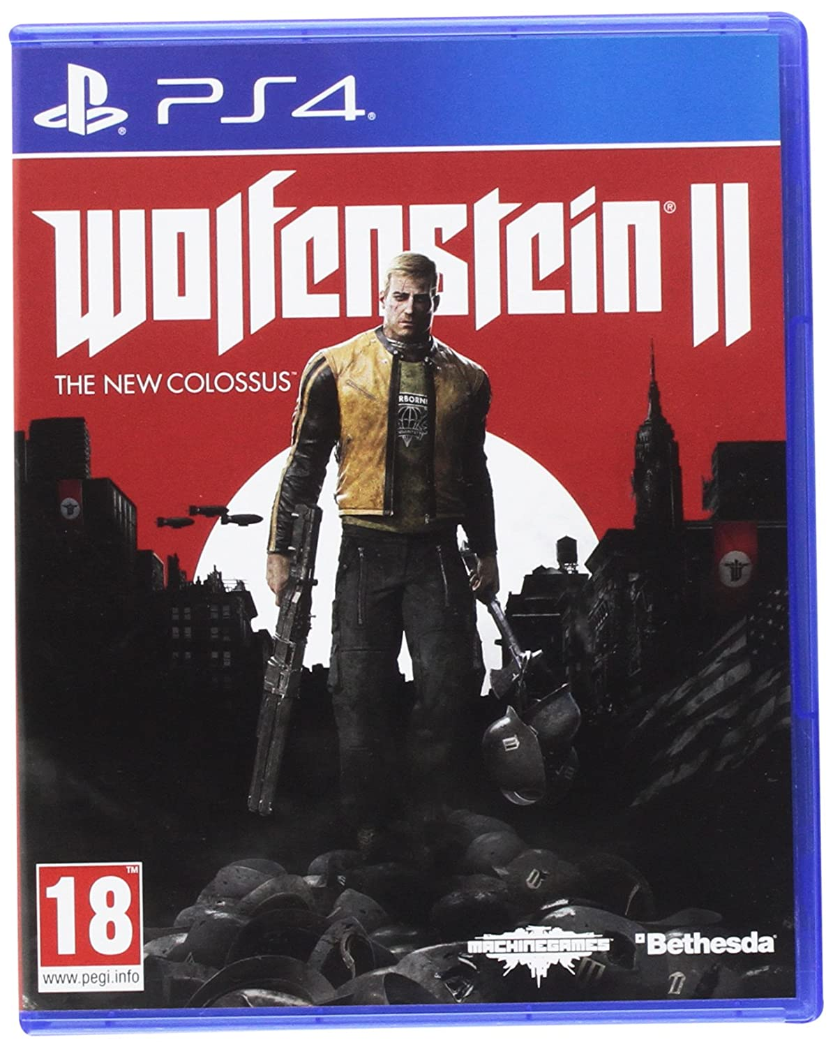 Wolfenstein Ii : The New Colossus   Play Station 4 [Importación Francesa] by Bethesda