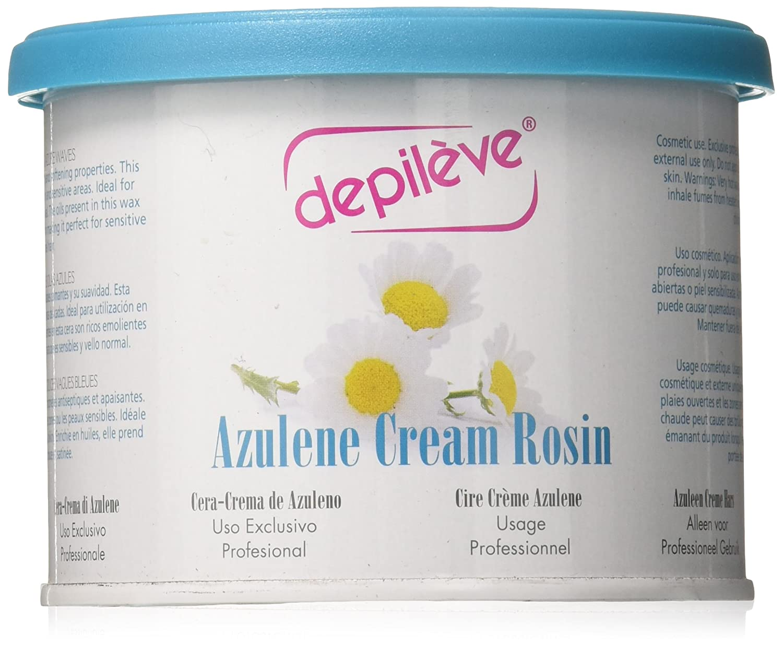 depileve azulene Cream Rosin, azuleno Crema Cera, para un Waxing profesional, Depilación