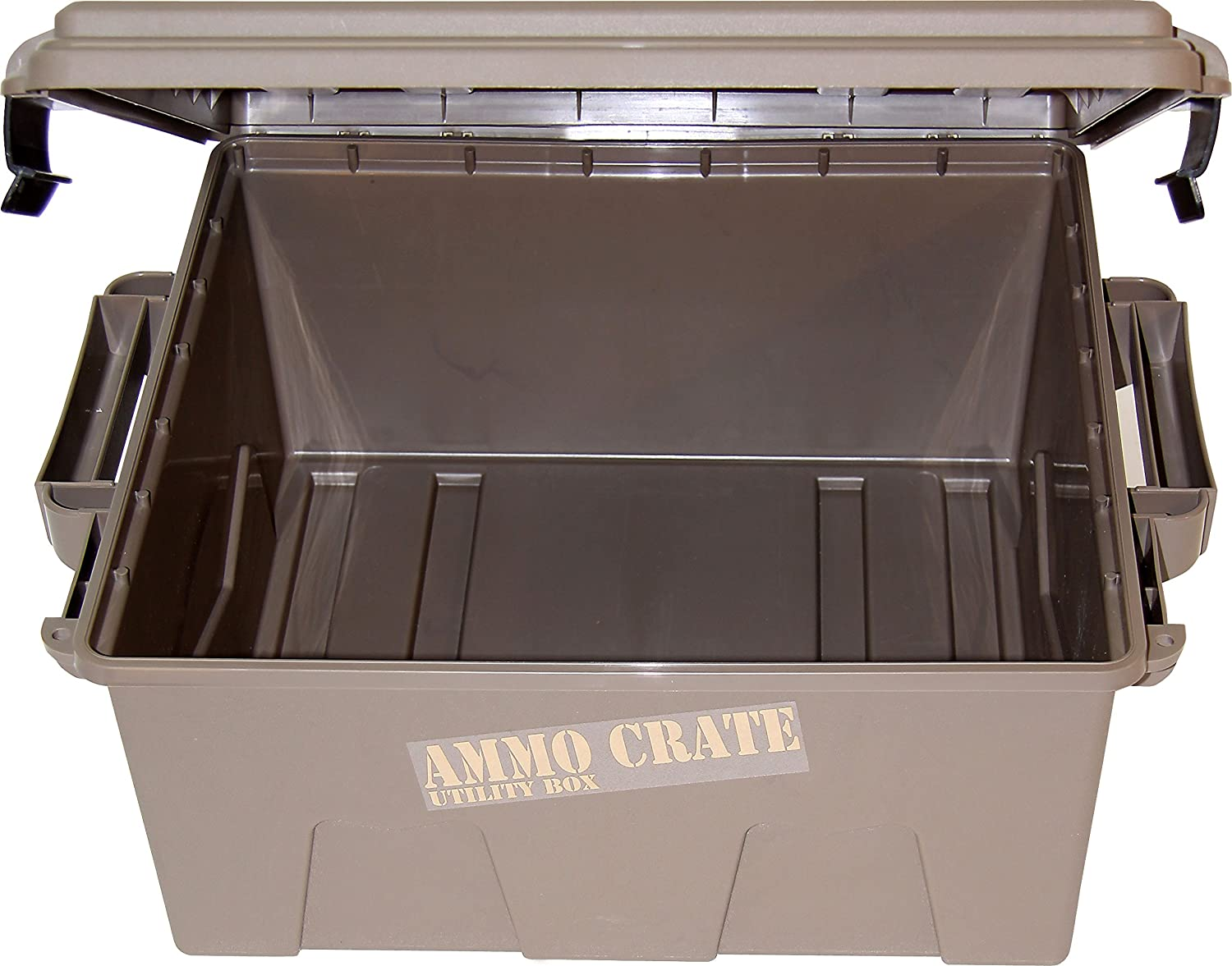 Amazon.com MTM ACR8-72 Ammo Crate Utility Box with 7.25  Deep Large Dark Earth Sports u0026 Outdoors & Amazon.com: MTM ACR8-72 Ammo Crate Utility Box with 7.25