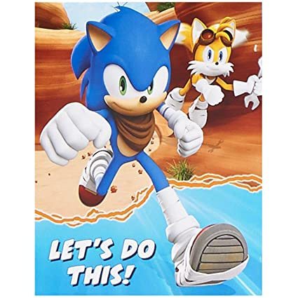 Amazon BirthdayExpress Sonic Boom Party Supplies