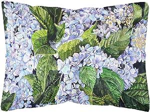Caroline's Treasures 8730PW1216 Hydrangea Canvas Fabric Decorative Pillow, 12H x16W, Multicolor