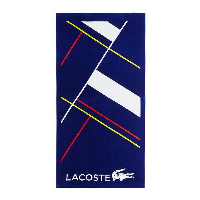 Amazon.com: Lacoste Cocktail Beach Towel, 100% Cotton, 390 GSM, 36