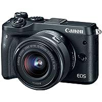 Canon EOS M6 15-45 Black EF-M 15-45mm f/3.5-6.3 is STM Lens Kit