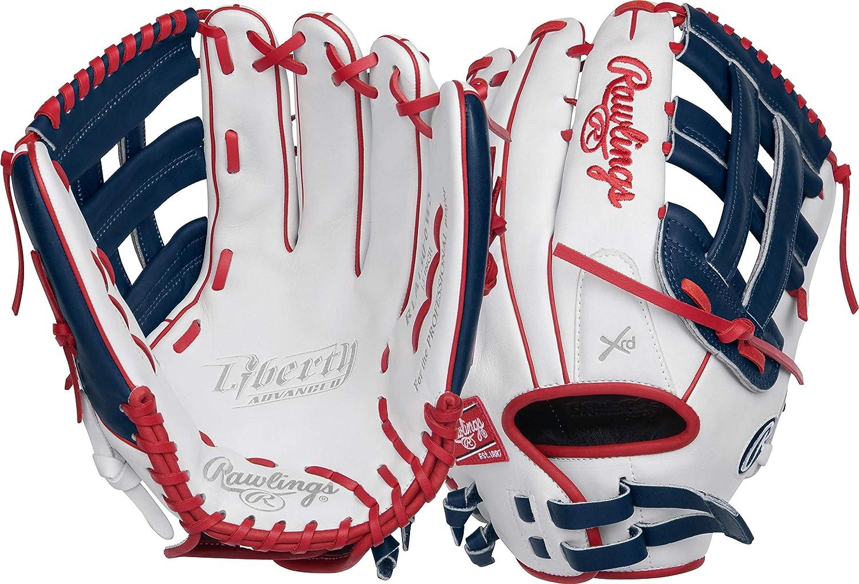 Rawlings Liberty Advanced 13 Inch RLA130-6WNS Slowpitch Softball Glove