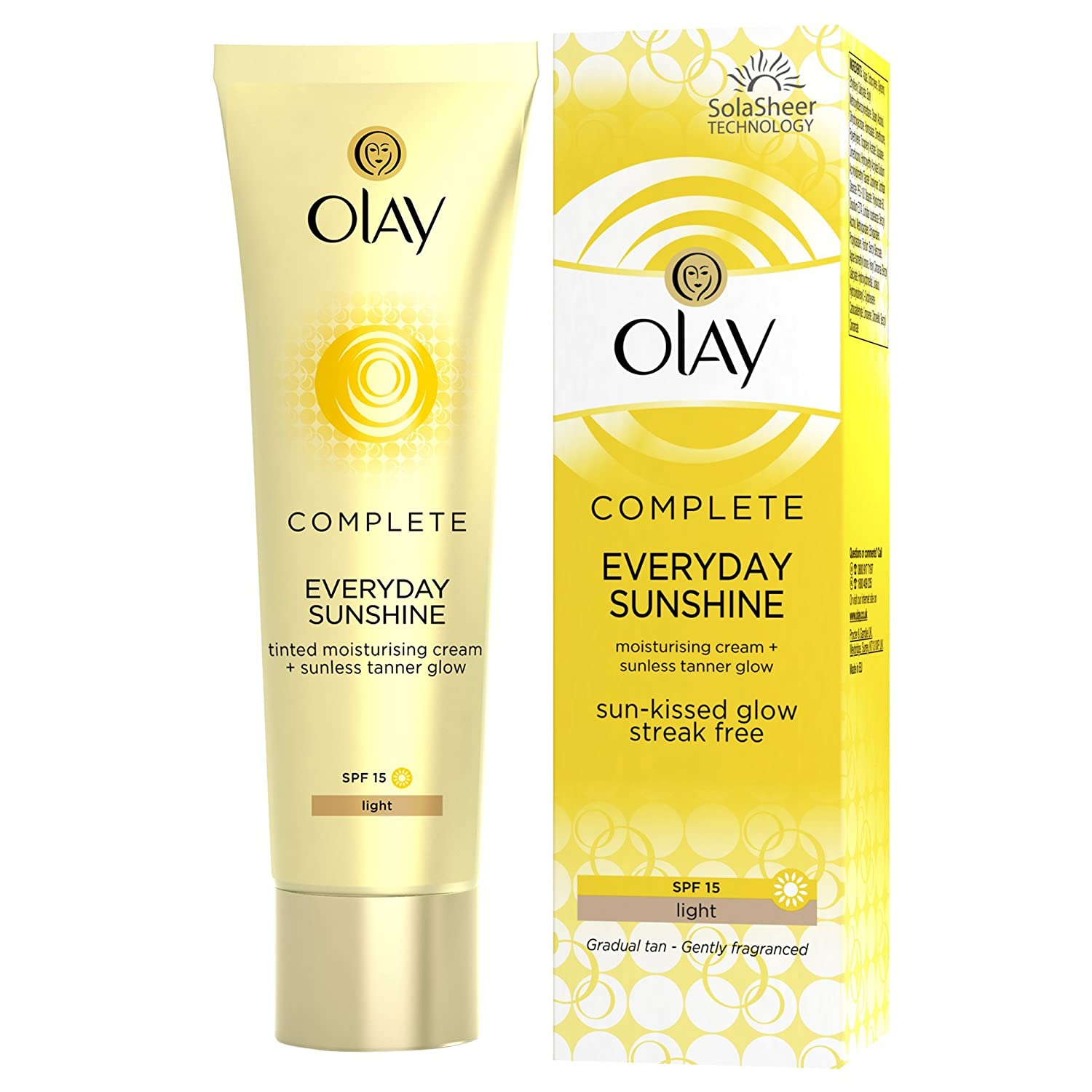 Olay Complete Care Everyday Sunshine Face Fluid Light - 50 ml Groceries 81507027