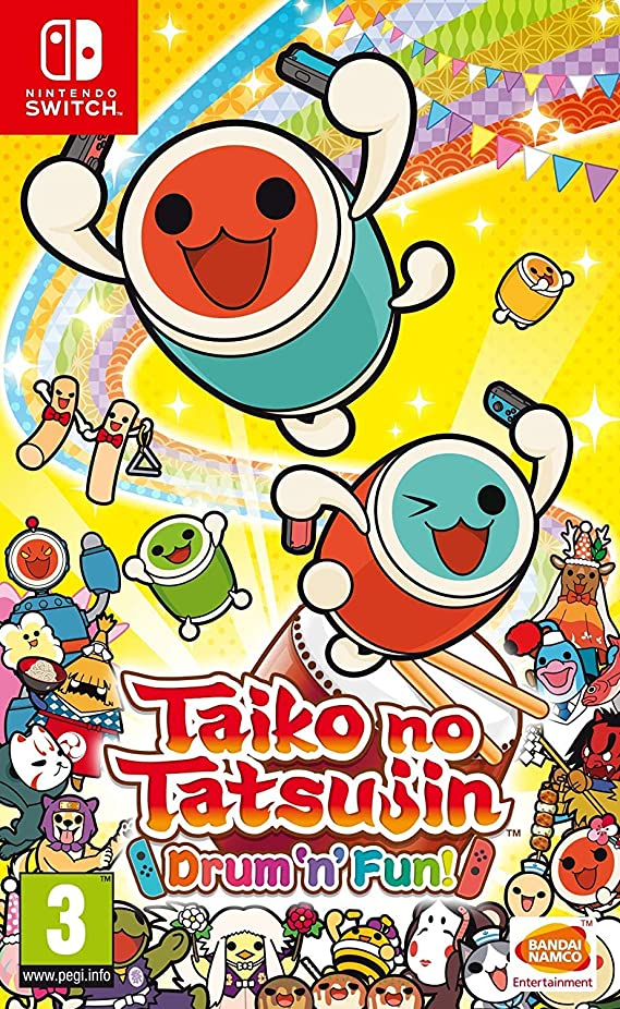 Taiko no Tatsujin: Drum 'n' Fun! (Nintendo Switch) (UK IMPORT)