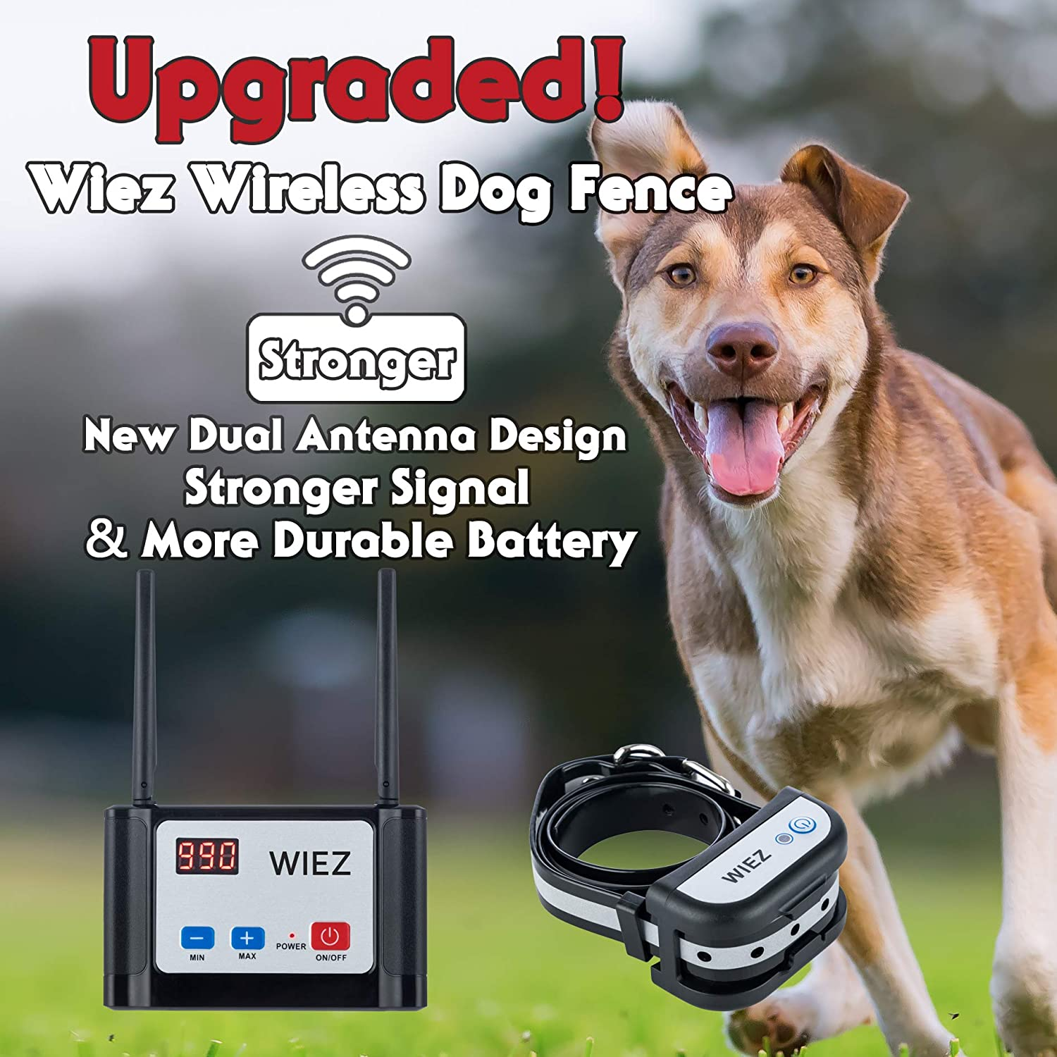 Best wireless electric dog fence 3