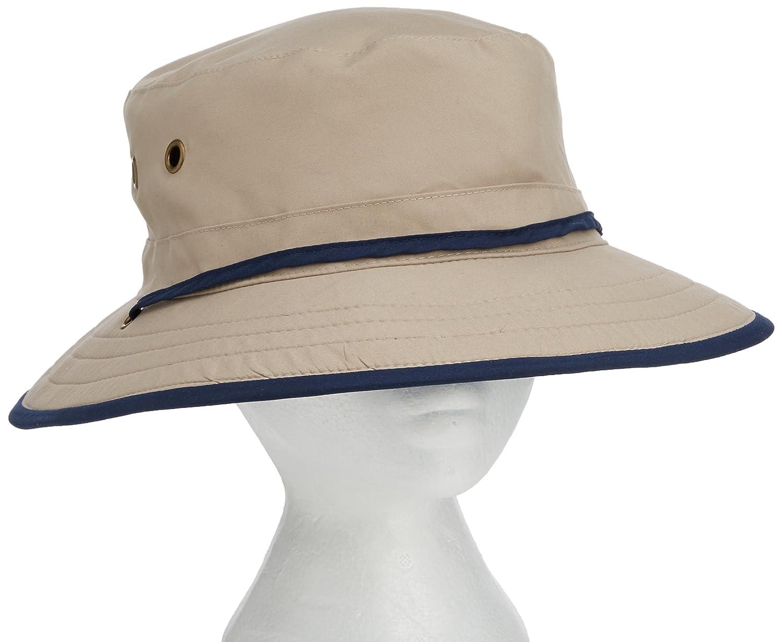 23cf0850ce8 Wallaroo Men s Explorer UV Sun Hat - UPF50+ Sun Protection (Adjustable    Packable)  Amazon.co.uk  Sports   Outdoors