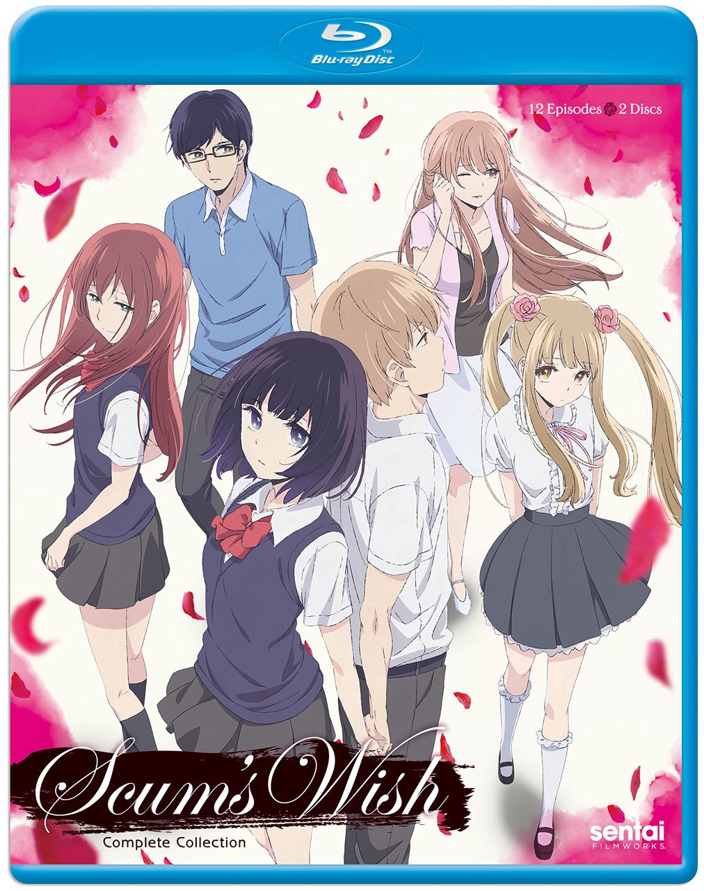 Blu-ray : Scum's Wish (Anamorphic, Subtitled, 2PC)