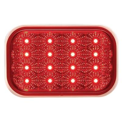 Optronics STL35RBP Red Lens Miro-Flex Rectangular LED Stop/Turn/Tail Light: Automotive